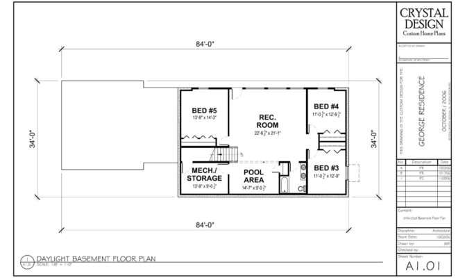 Finished Basement Floor Plans Custom Home Basements