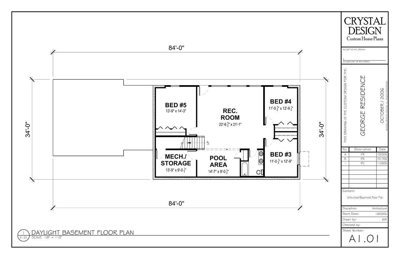 Finished Basement Floor Plans Custom Home Basements