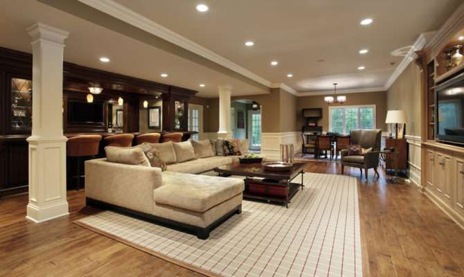 Finished Basement Man Cave Designs Awesome