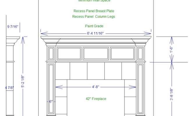 Fireplace Mantel Plans Neiltortorella