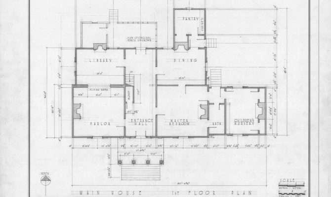 First Floor Plan Midway Plantation Wake County North Carolina