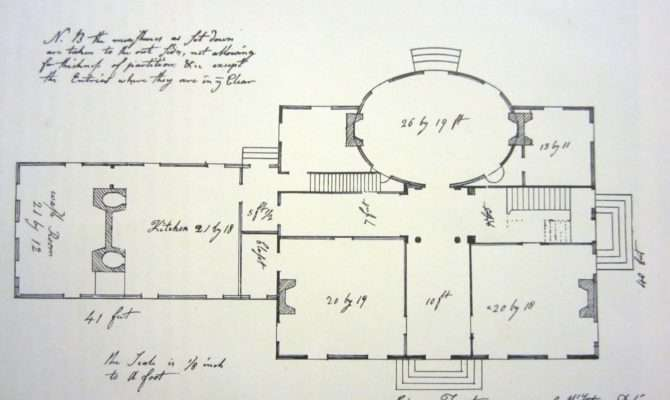 First Floor Plan Old Time New England Spring