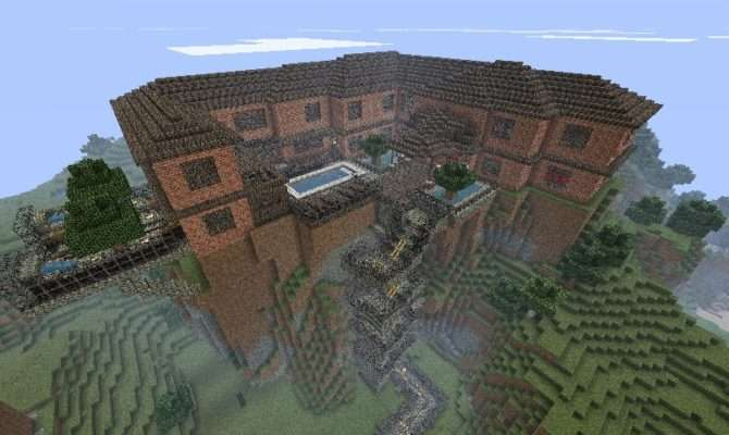 First House Brick Mansion Minecraft Project
