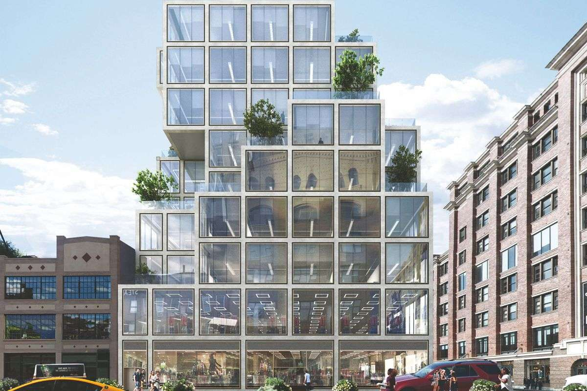 First Look Rafael Oly Boxy Chelsea Office Building