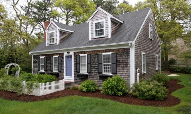 Five Cape Cod Houses Sale Faded Cedar Shingles
