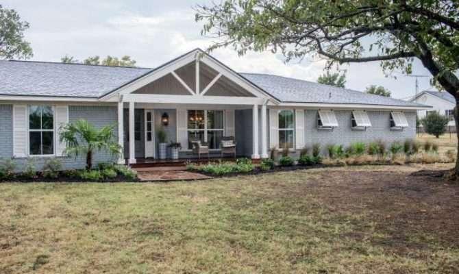 Fixer Upper Coastal Makeover Ranch House