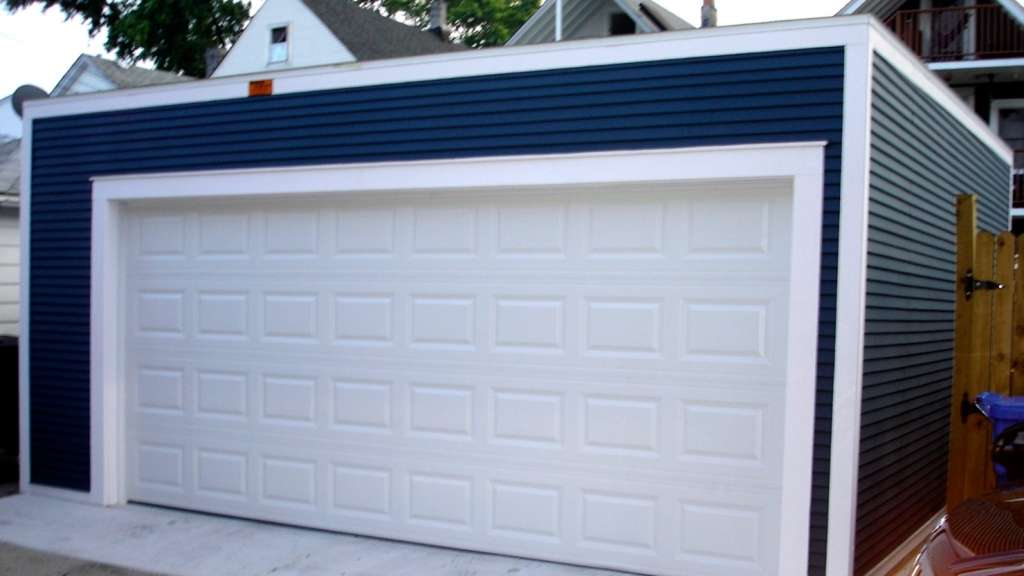 Flat Roof Garage Design Wdeck Garages