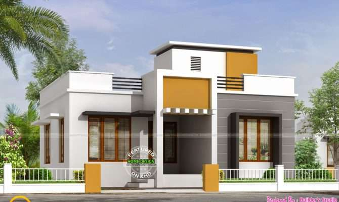 Flat Roof One Floor Home Kerala Design