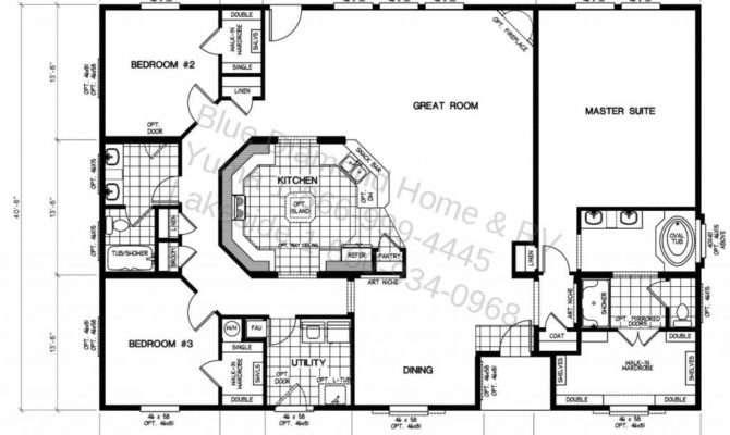 Fleetwood Mobile Home Floor Plans Unique Manufactured