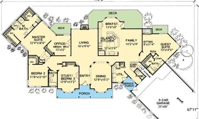 Flexible House Plan Law Suite