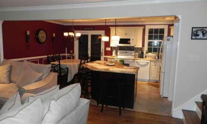 Floor Design Simple Plans Kitchen Living