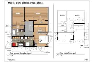 Floor Master Suite Plans Addition