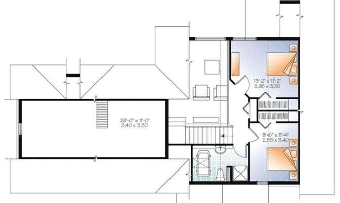 Floor Plan Cottage Country Craftsman Vacation House