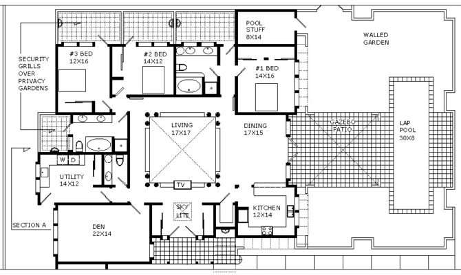 Floor Plan Cross Section