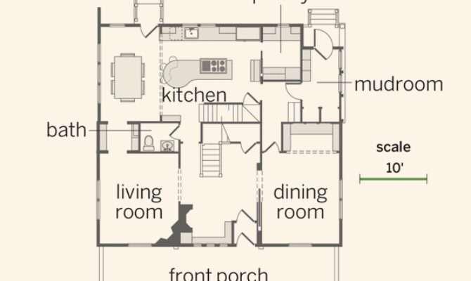 Floor Plan First Century House All