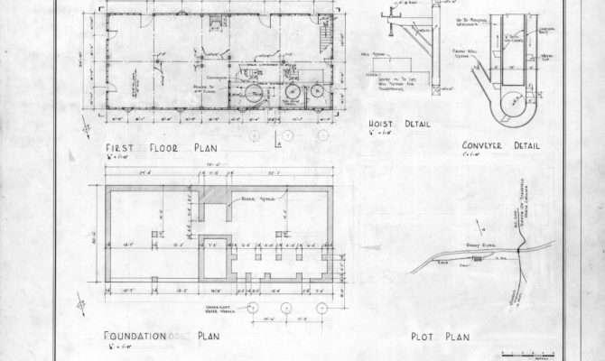 Floor Plan Foundation Detail Drury Morgan Mill
