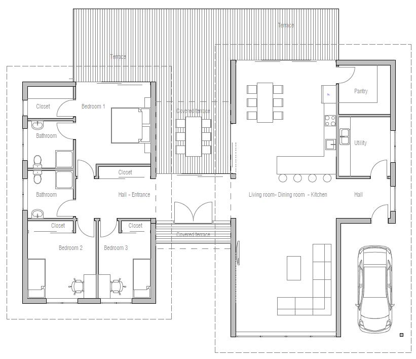 Floor Plan Friday Bedroom Modern House High