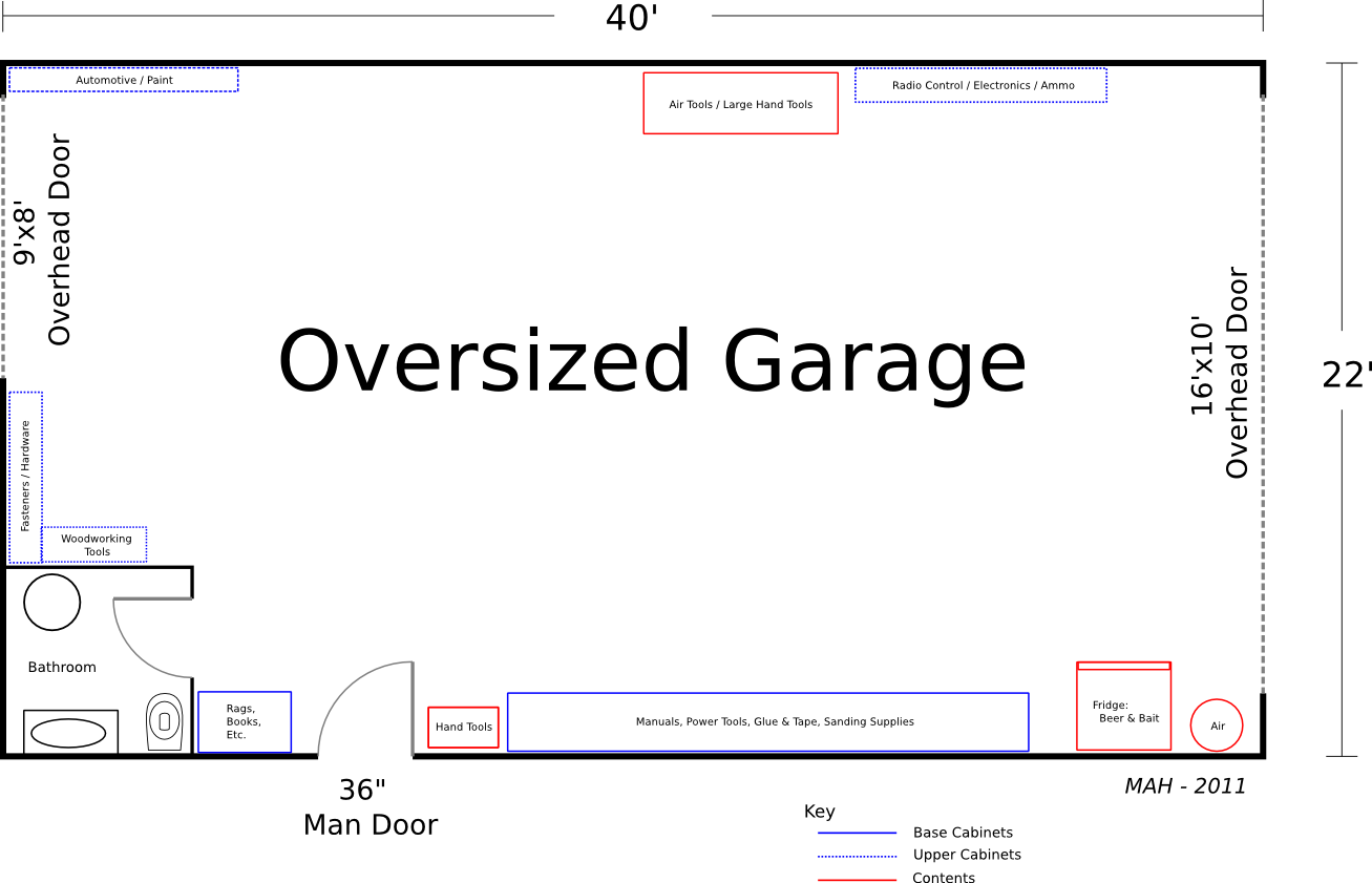 Floor Plan Friday Oversized Garage Mithril Mages