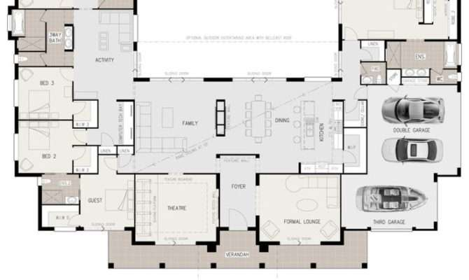 Floor Plan Friday Shaped Bedroom Home