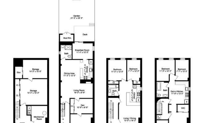 Floor Plan Gowanus Renovation