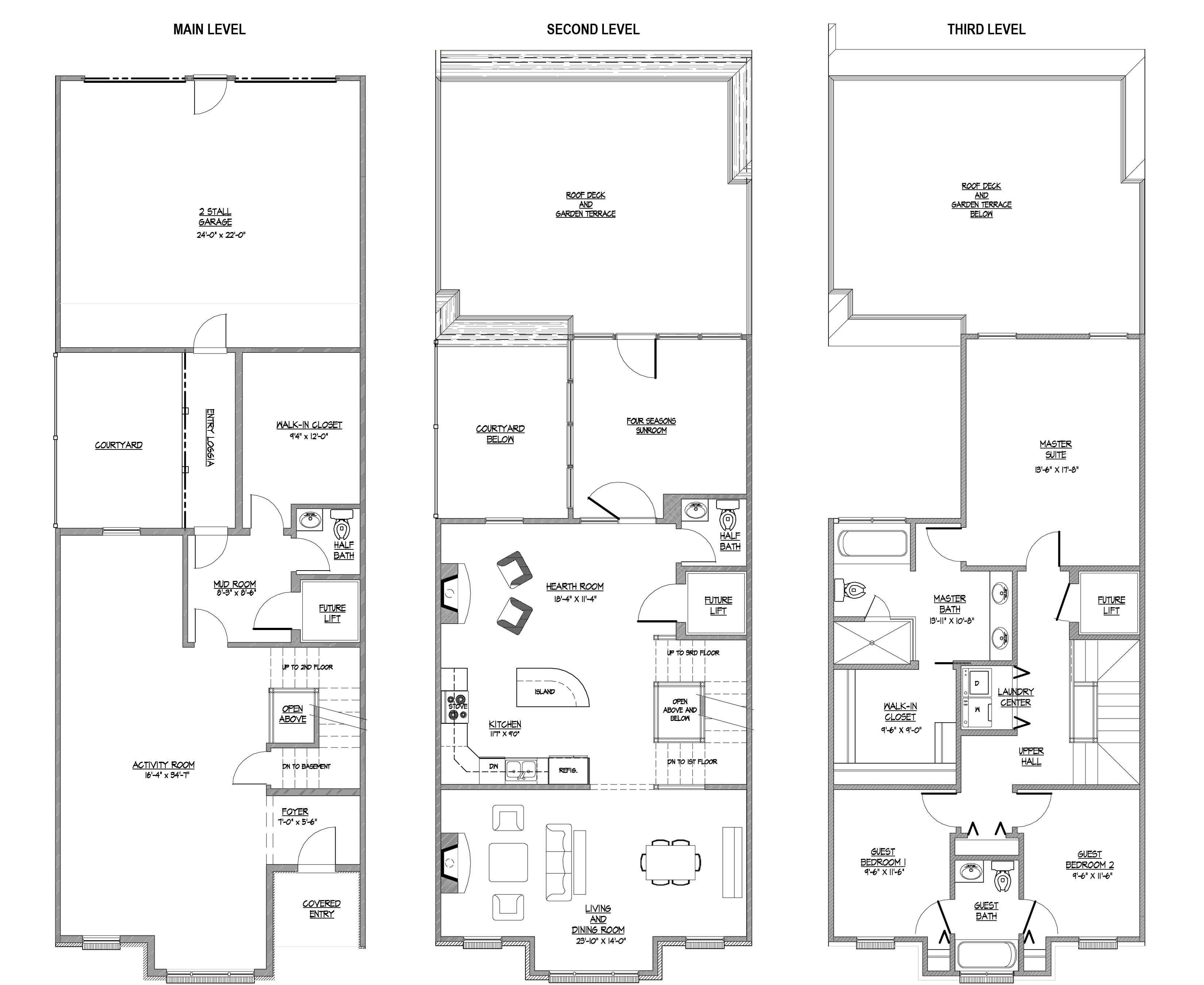 Floor Plan Heritage Square