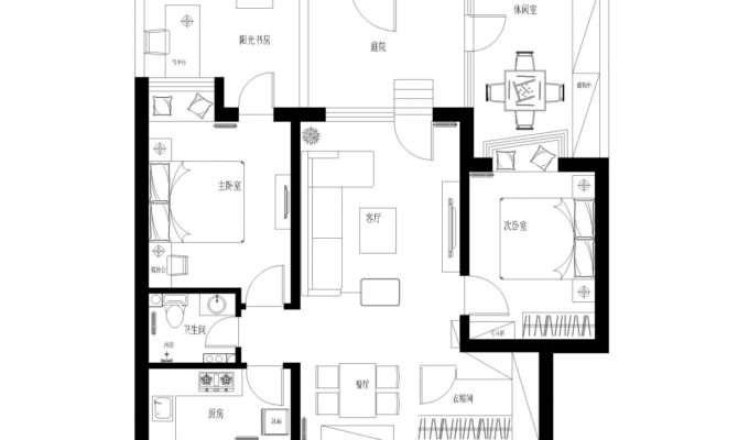 Floor Plan Living Room Interior Design