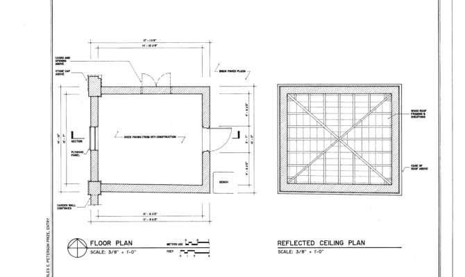 Floor Plan Reflection Ceiling Octagon