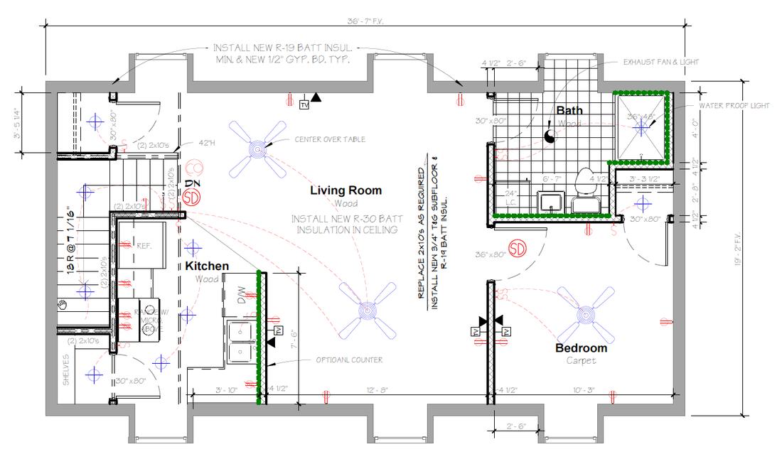 Floor Plan Second