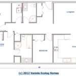 Floor Plan Single Level Log Home Rancher Bungalow Style