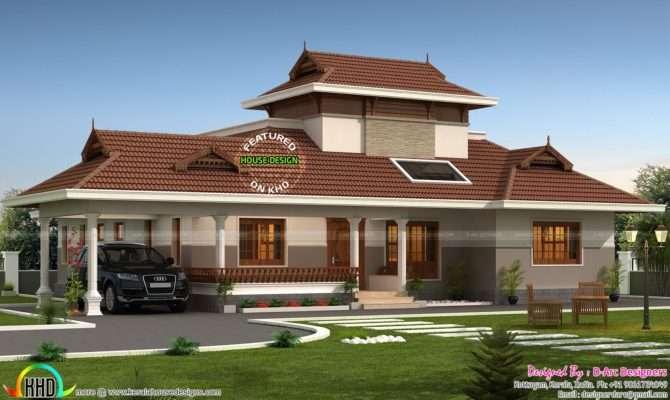 Floor Plan Traditional Home Kerala