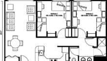 Floor Plan Typical Apartment Design