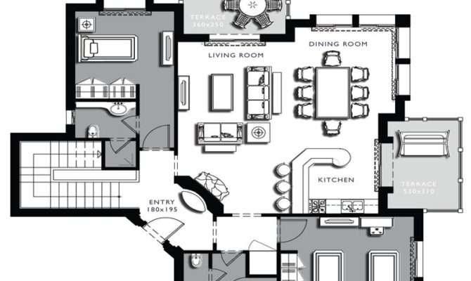 Floor Plans Architecture Lower Plan