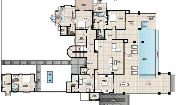Floor Plans Beach House