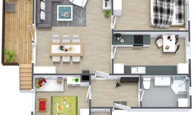 Floor Plans Bedroom Apartment