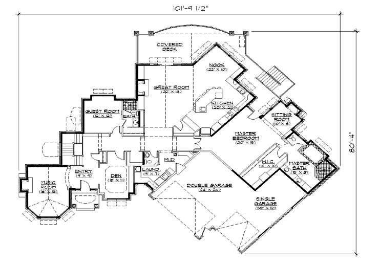 Floor Plans Bedroom Houses Square Feet Bedrooms