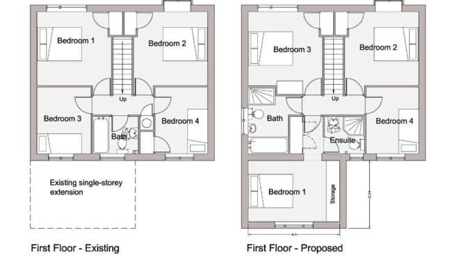 Floor Plans Elevations Planning Drawings Required Show