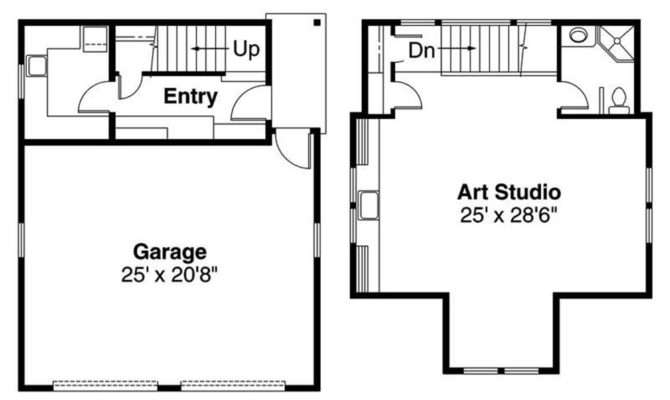 Floor Plans Garage Home Plan
