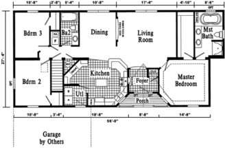 Floor Plans Home Floors Ranch House Sims