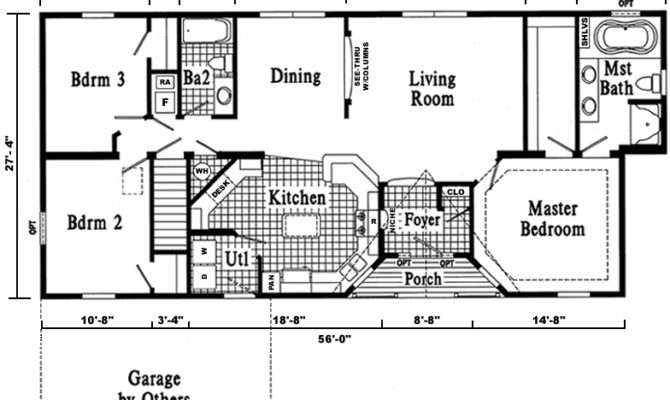 Floor Plans Home Floors Ranch House Sims