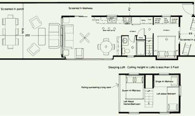 Floor Plans Lakeside Cabins Resort