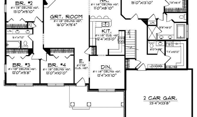Floor Plans Large Home Gurus