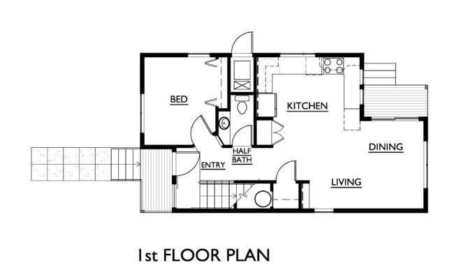 Floor Plans Measurements Simple Elegant Plan