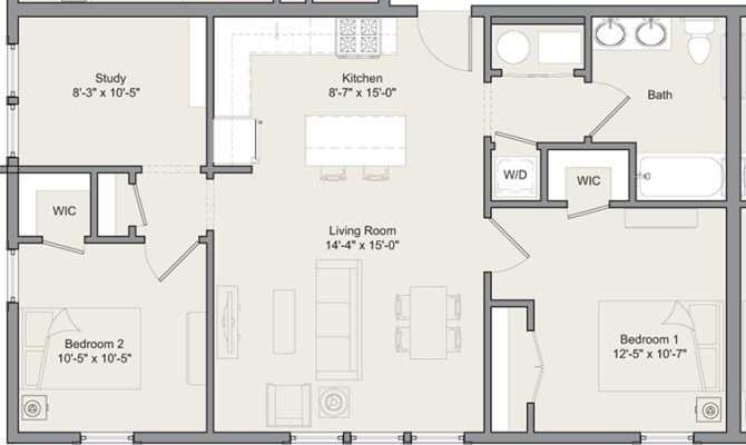 Floor Plans Merwick Stanworth Faculty Housing