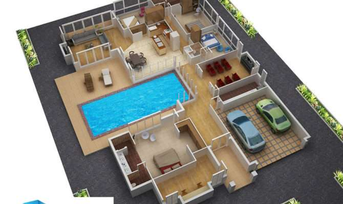 Floor Plans New Homes Architectural House Plan