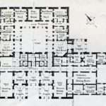 Floor Plans New Labels Superimposed Kashmir House Delhi
