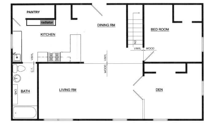 Floor Plans Odd House