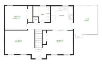 Floor Plans Under Splendid Ranch Style Homes