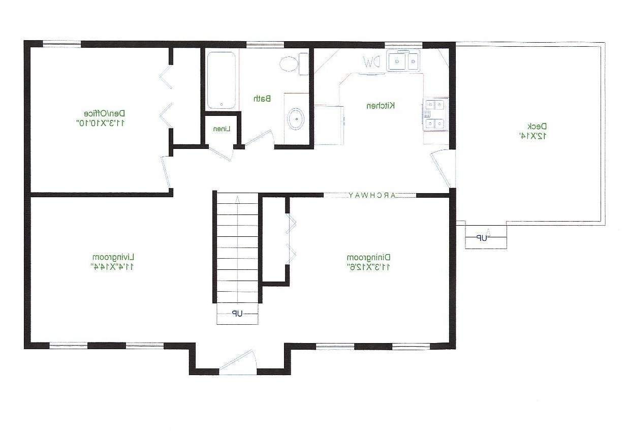 Floor Plans Under Splendid Ranch Style Homes