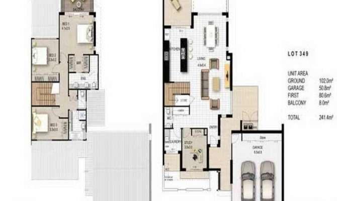 Floor Plans Unique American Ranch House