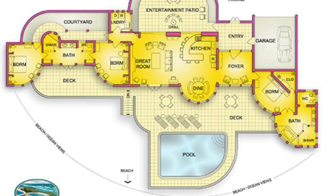 Floor Plans Vacation Home Interiors